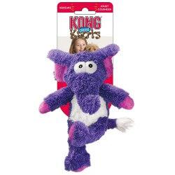 Kong Cross minkštas žaislas dramblys su virve šunims