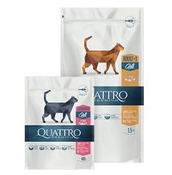 -30% nuolaida visam Quattro sausam maistui katėms